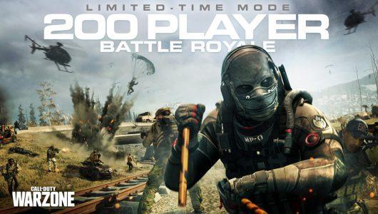 Call of duty warzone 200 giocatori