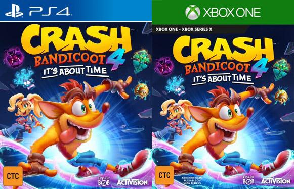 Crash Bandicoot 4 cover
