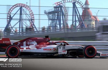 F1 2020 trailer baku