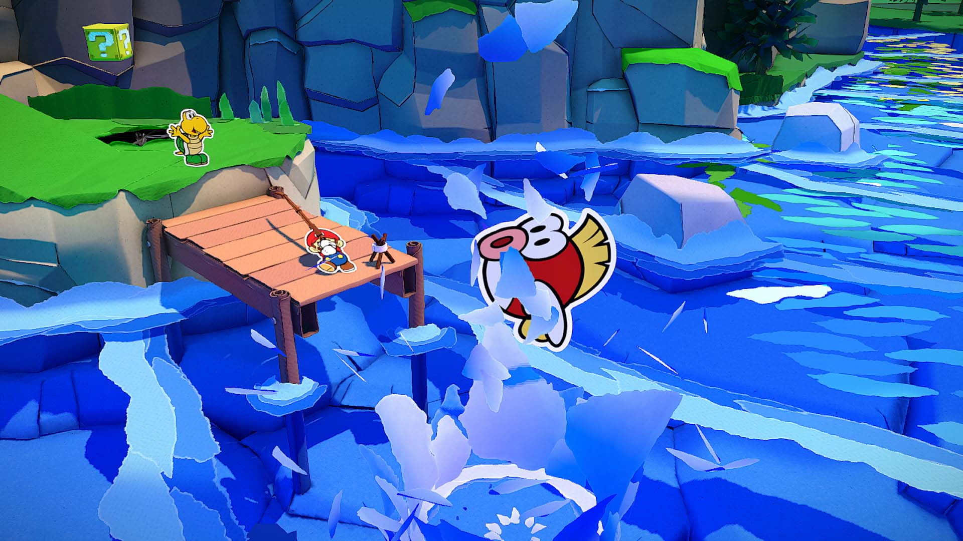Paper mario the origami king open world