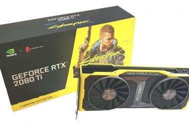 Contest RTX 2080 Ti Cyberpunk 2077 Edition – The Games Machine