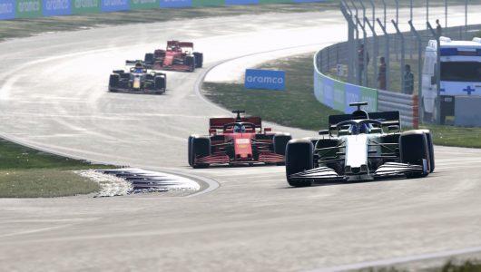 F1 2020 hot lap