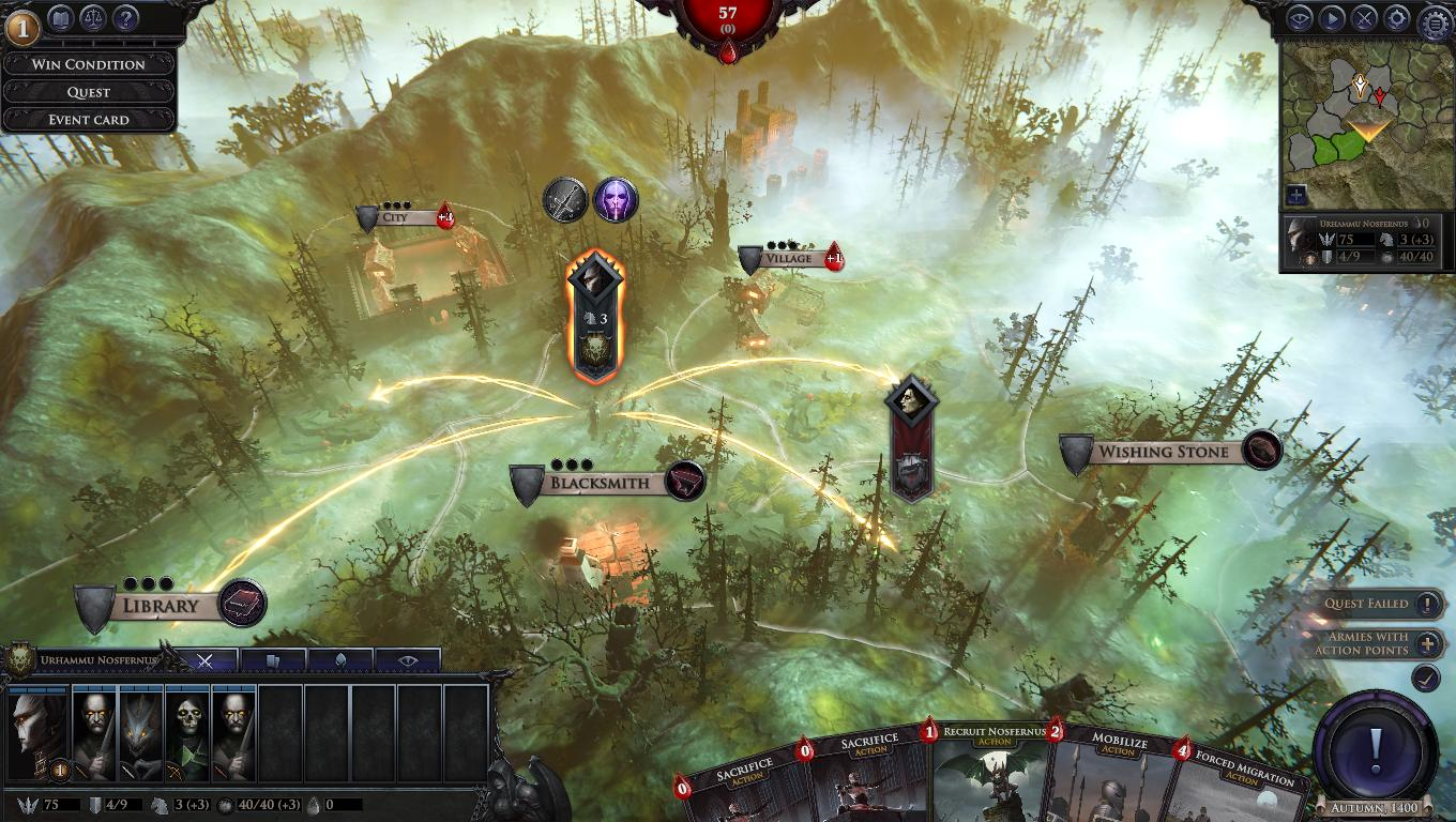 immortal realms vampire wars recensione