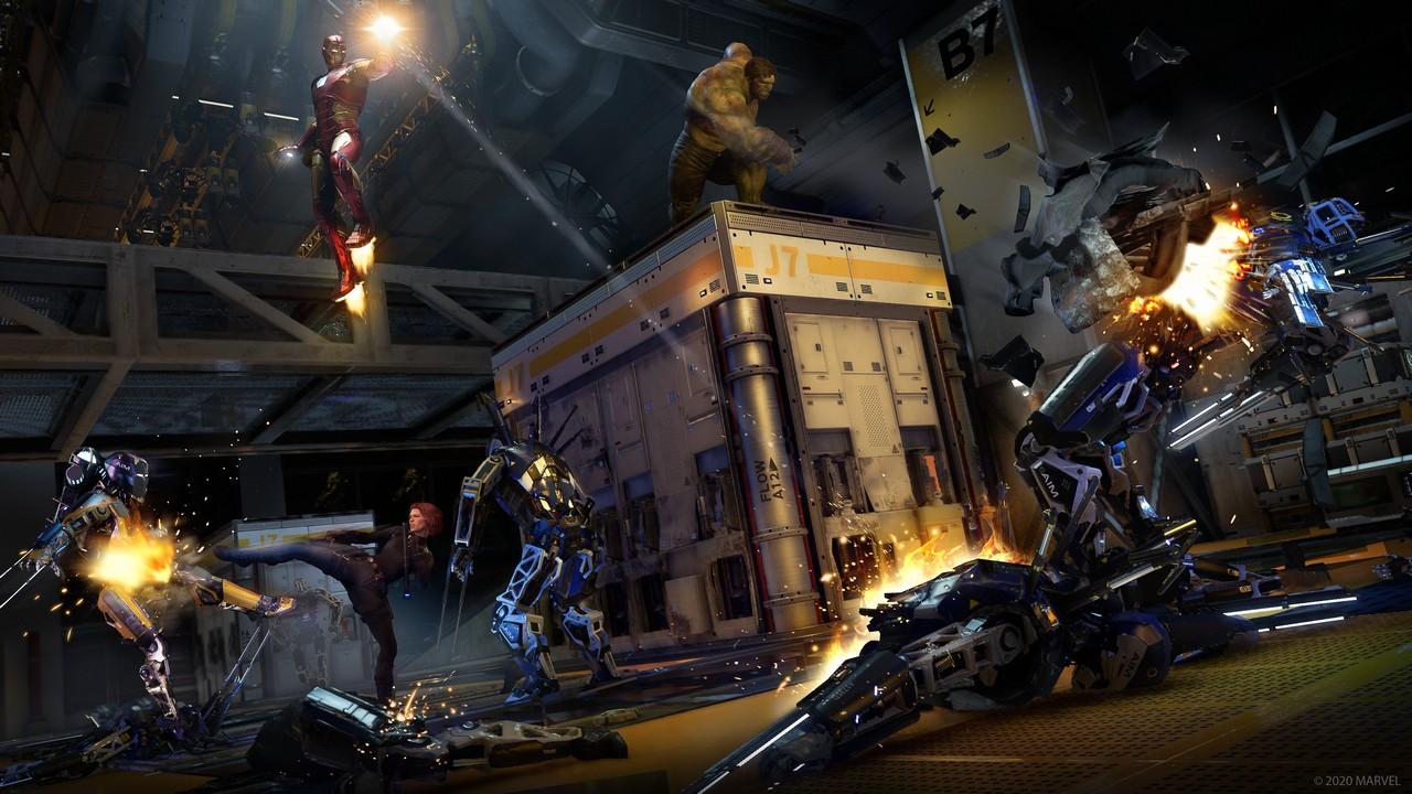 marvel's avengers anteprima beta