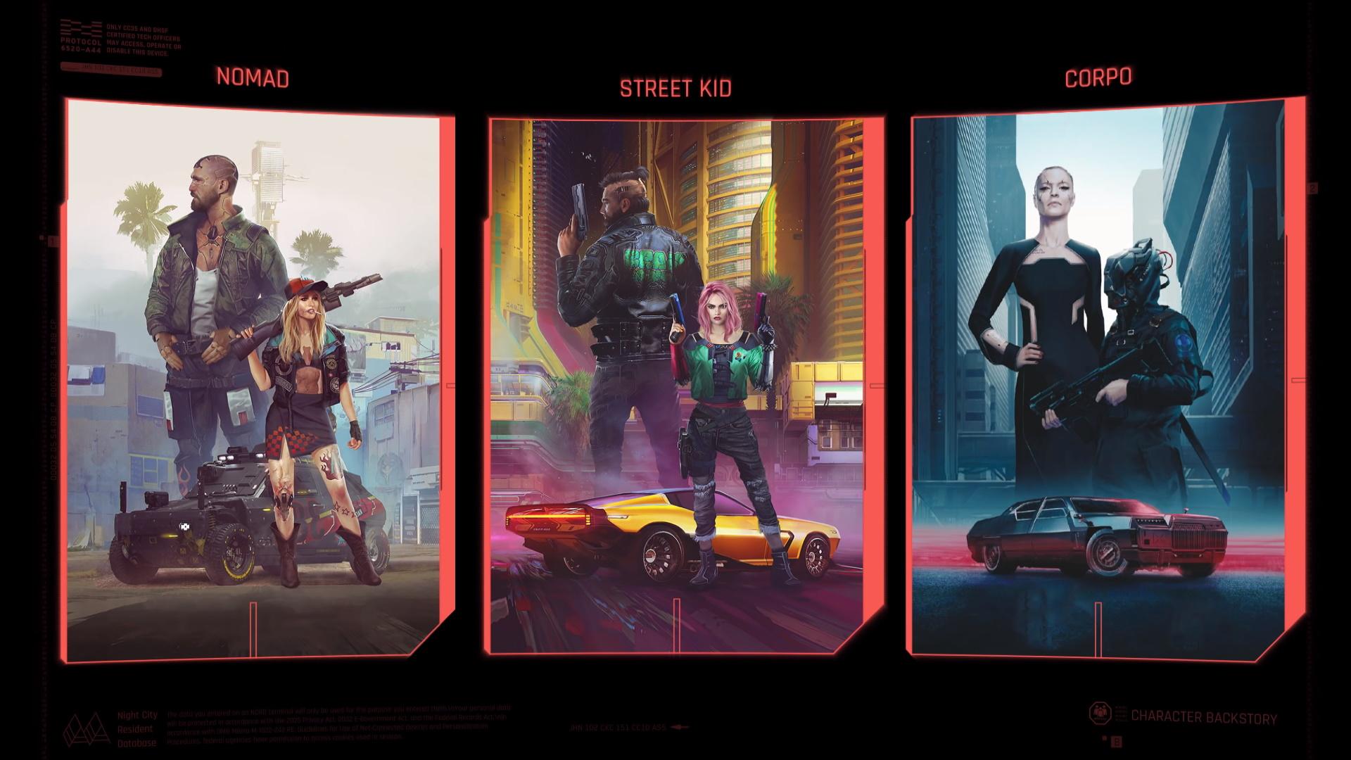 cyberpunk 2077 backgound