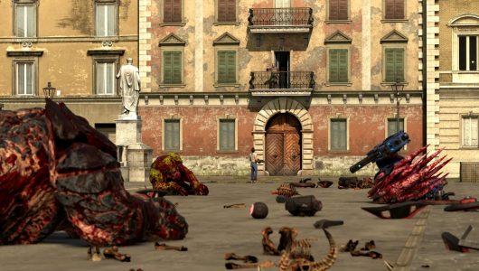 Serious Sam 4: un nuovo video di gameplay mostra la Papamobile
