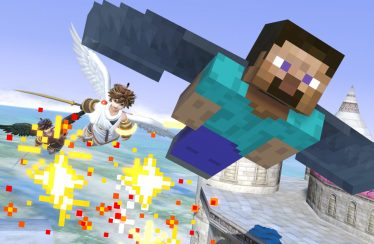 smash bros ultimate minecraft