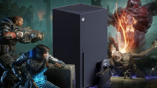 Gears 5 Xbox Series X mix