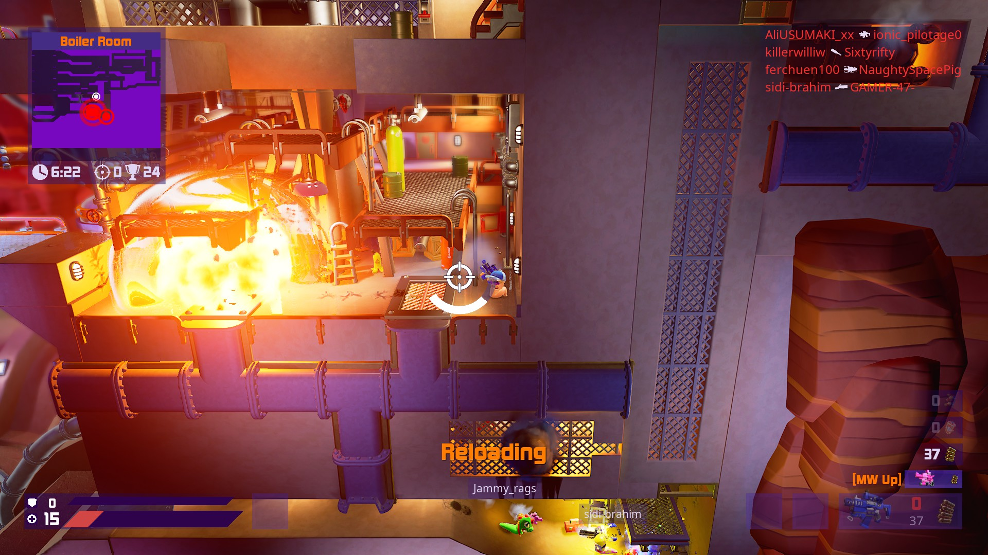 worms rumble recensione