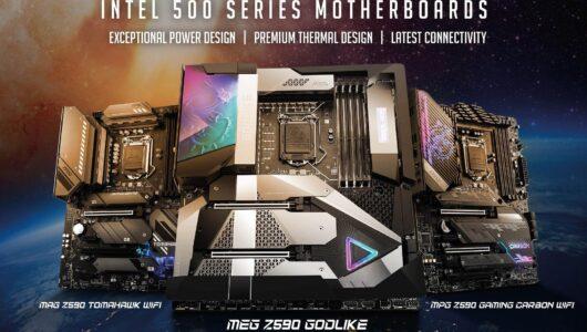 MSI Intel 500