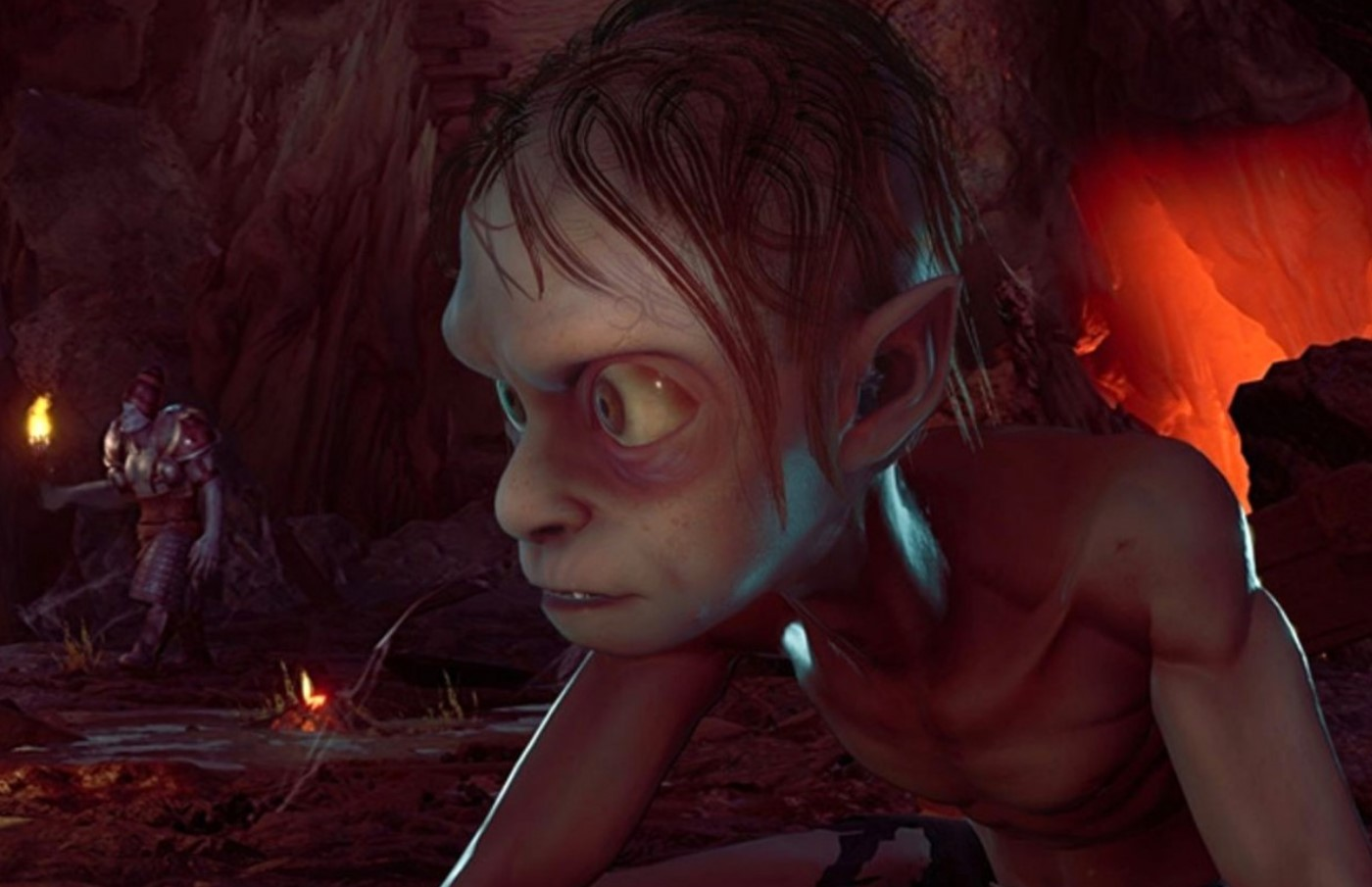 The Lord of the Rings Gollum rinviato
