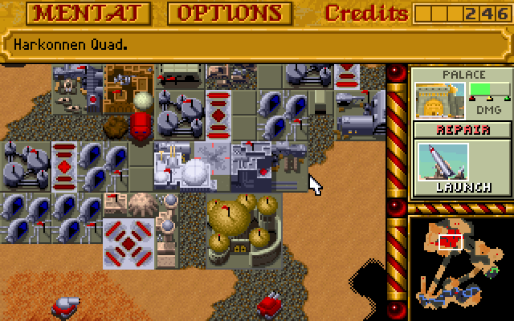 Dune 2 Command and Conquer Blade Runner Westwood