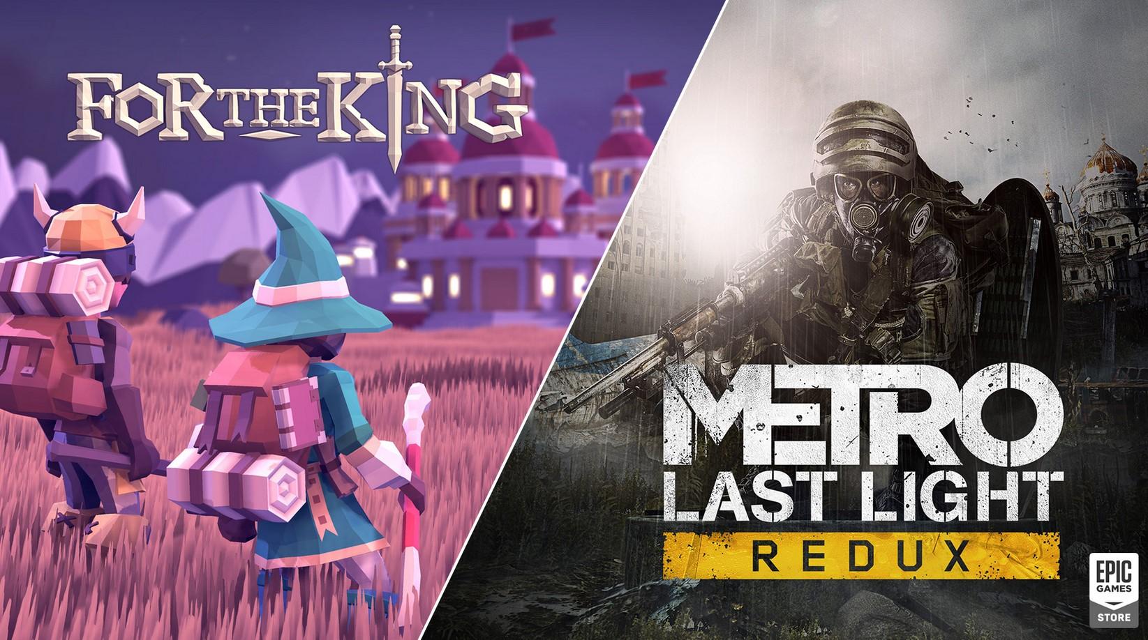 Metro Last Light Redux epic games store