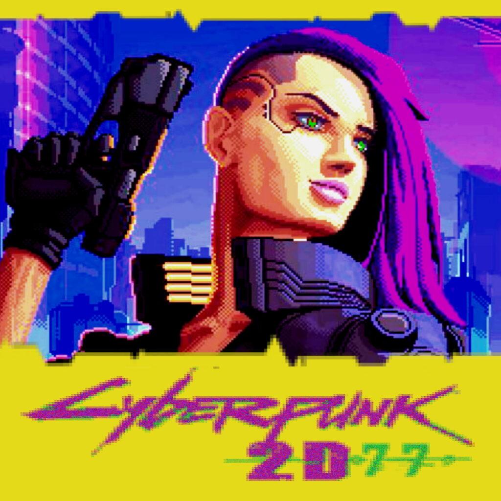 Cyberpunk 2D77 metroidvania
