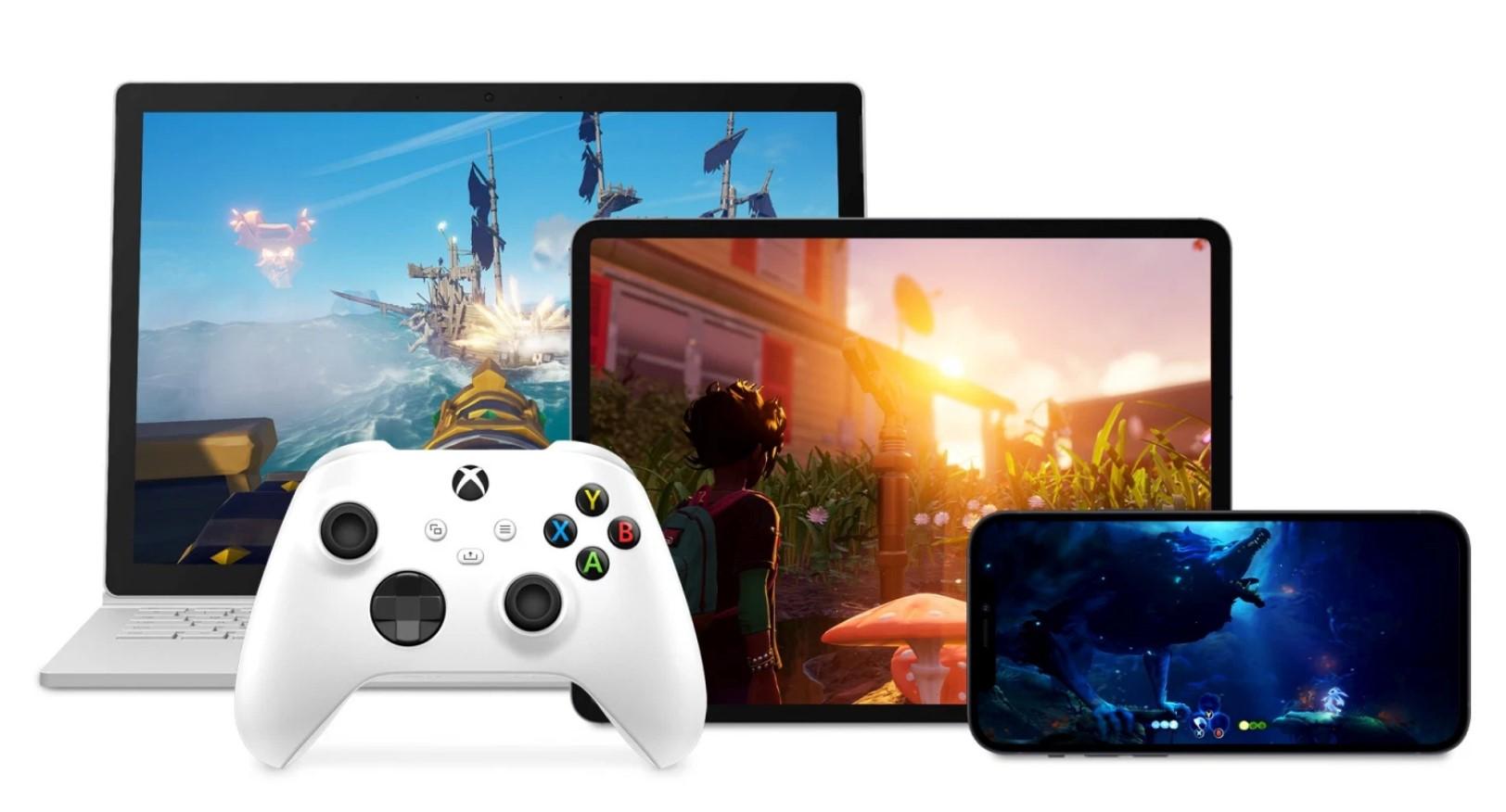 Xbox cloud gaming pc ios