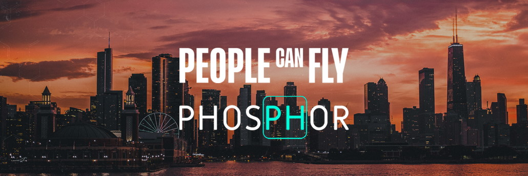 people can fly phosphor